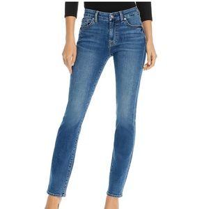 7 For All Mankind Kimmie Straight Jean medium wash